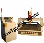 4 axis CNC Engraving Machine W1325-4 axis 600Z